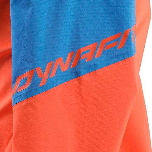 Dynafit Herren 3-lagen-jacke Transalper neongrün/ hellblau