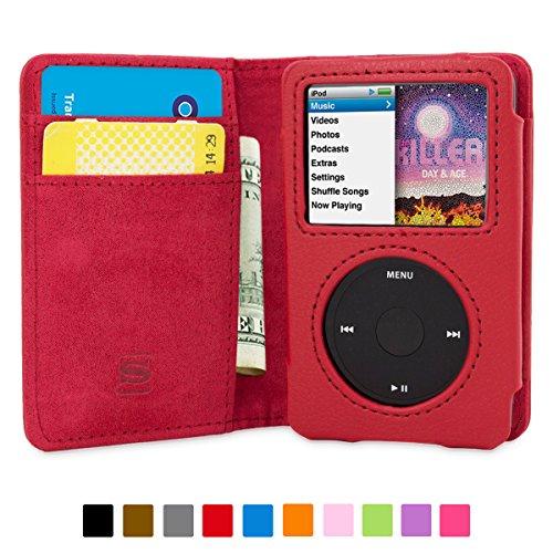 snugg-ipod-classic-funda-rojo-de-cuero-con-tapa-funda-billetera-con-tapa-para-tarjetas-atril-e-inter