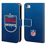 Officiel NFL New England Patriots 2019 Super Bowl LIII Champions Étui Coque De Livre...
