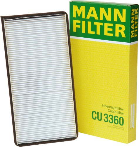 Mann Filter CU3360 Filter, Innenraumluft (Air 8 V Filter)