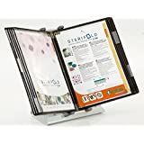 DUTSCHER 067921 Pupitre con 10 compartimentos para folios A4 antimicrobianas.