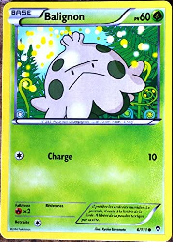 carte Pokémon 6/111 Balignon XY 60 PV XY03 XY Balignon Poings Furieux NEUF FR B00UC6C0UA 63ed07