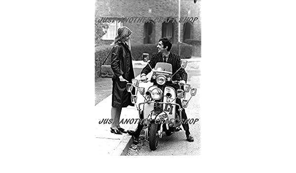 Quadrophenia Jimmy and Steph Lambretta Li150 Scooter Mod Poster A4 Size