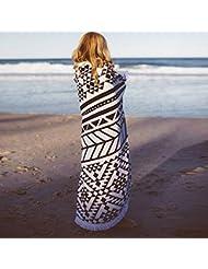 WDBS Meilleures ventes de serviettes de plage / cadeaux de voyage / serviettes de plage pour femmes