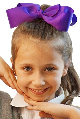 dance-solo-troupes-shows-groups-stage-fancy-dress-jojo-dance-hair-bow-clip-on-hair-accessory-in-vari