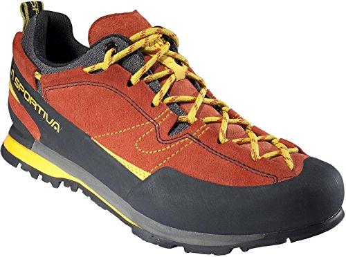 La Sportiva Boulder X, Stivali da Escursionismo Uomo, Rosso 000, 43 EU