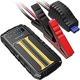 RAVPower Booster Batterie Portable  300A Peak 8000mAh, Jump Starter et Démarreur de Voiture (pour les Véhicules à Essence 2.0 L 12V), Batterie Externe Téléphone Quick Charge 2.0, Lampe LED Intégrée