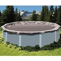 Swimline SD18RD 18 'Deluxe piscina fuori terra di copertura invernale