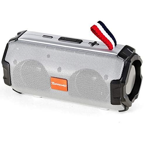 KXX Bluetooth-Lautsprecher Portable Bluetooth Speaker Wireless Stereo Bass Column Outdoor HiFi Speakers Sound Box Support Fm Radio Tf Card USB Aux (Calling Card Box)
