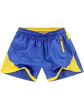 WDDGPZ Pantalones Cortos De Playa/Los Hombres De Playa En Verano, Shorts Shorts Fitnees Secado Rápido Macho M-XXL...