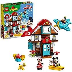 LEGO®-DUPLO® DisneyTM La maison de vacances de Mickey Fille et Garçon 2 Ans et Plus, 57 Pièces 10889