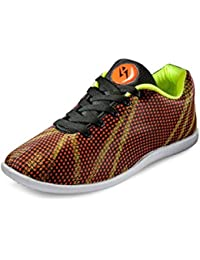 Yepm Men's Orange Synthetic Casual Shoes