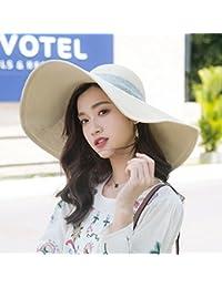 Straw hat Flash- Protezione Solare Femminile Cappellino da Sole Cappello da  Pescatore  f421d4c3875c