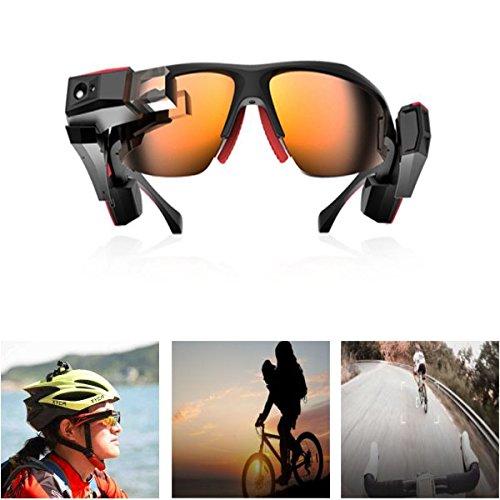Kungfu Mall 3D AR VR Brille Sport Smart Glasses 13 Megapixel CMOS Kamera mit Bluetooth Funktion für XLOONG
