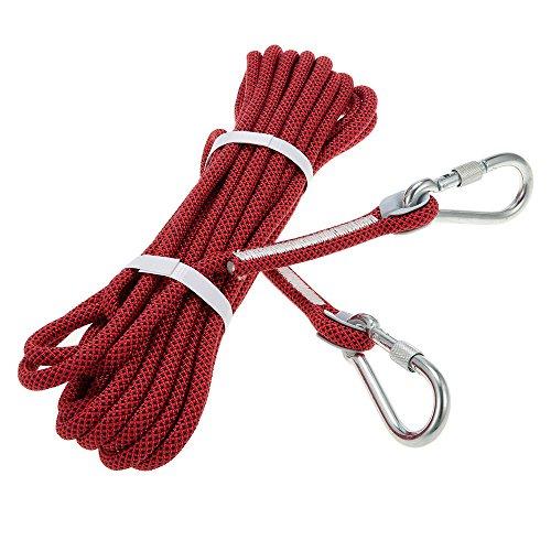 Docooler corda di sicurezza 10.5 millimetri * 10m con moschettone