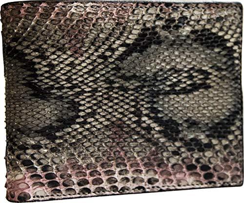 9b616046cf Etabeta Artigiano Toscano | Portafoglio Uomo in Vera Pelle di Pitone  Certificata CITES con Portamonete Multicolore