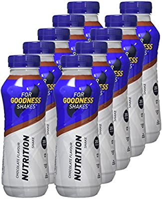 For Goodness Shakes Protein Nutrition Drink  - Chocolate - Strawberry