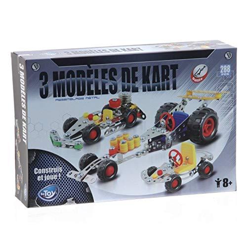 Betoys-106432-construcción de Metal Kart