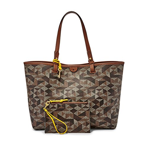 Borsa donna FOSSIL due manici Shopping Rachel Tote multi brown ZB6818249