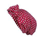 URSING Damen Kopftuch Islam Frauen Indien Muslim Stretch Hut Retro Vintage Blumen Drucken Baumwolle Turban Hut Wrap Cap Headwear Headwear für Haarverlust, Krebs, Chemotherapie (D)