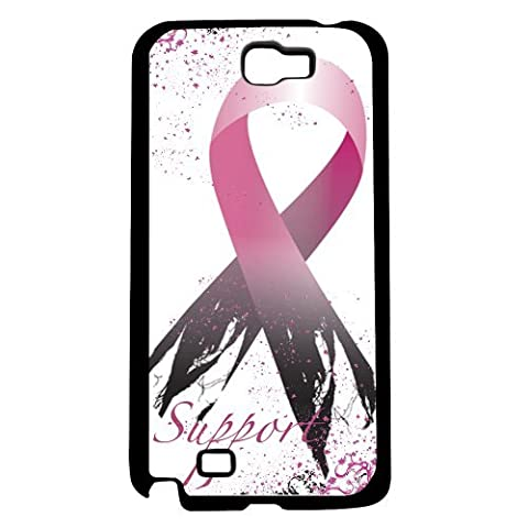 Support Breast Cancer Survivors Ribbon Hard Snap on Phone Case (Note 2 II)