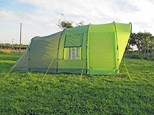 Olpro-Cocoon-4-Berth-Family-Tunnel-Tent-Green