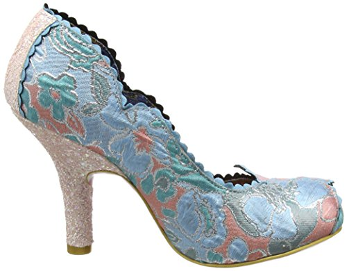 Irregular Choice Damen Silver Linings Pumps Pink (Pink/Blue)