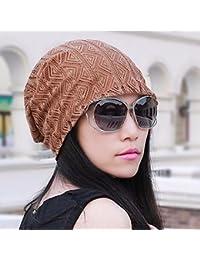 QIER-MZ Sombreros Gorras de Turbante absorbentes de Sudor Transpirables de Las  Mujeres Encapuchados Casquillos b18d09deb27