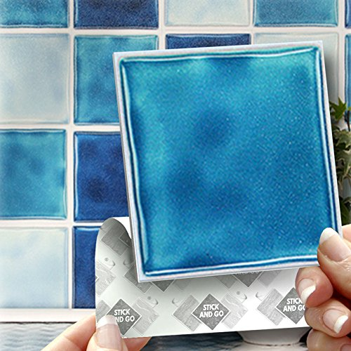 blue-mix-effect-wall-tiles-box-of-18-tiles-stick-and-go-wall-tiles-4x-4-10cm-x-10cm-each-box-of-mixe