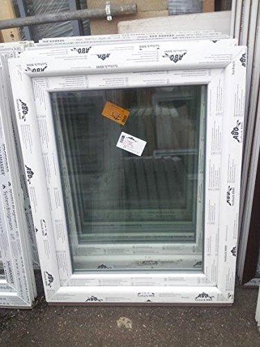 Kunststofffenster Seebach8000 80x100 cm (b x h), weiß, DIN rechts