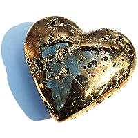 Reiki Healing Energy Charged Einzigartiger Pyrit Herz Kristallstein 211 g (wunderschön in Geschenkverpackung verpackt) preisvergleich bei billige-tabletten.eu