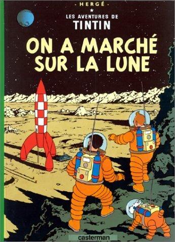 Tintin - On a marché sur la Lune - cahier de textes