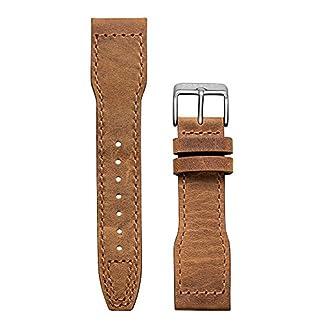 Pop-Pilot-Damen-Leder-Uhrenarmband-LB-Camel-gebstete-Schlie-2