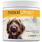 maxxidog - maxxiUtract urinary and bladder supplement for dogs - Helps prevent UTI recurrence, support canine bladder control and urinary tract system health - Cranberry formula - powder 150 g