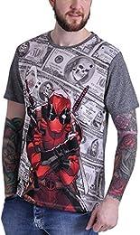 deadpool t-shirt herren nike