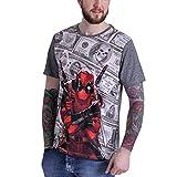 Marvel Comics Deadpool Herren Fan T-Shirt - Deadpool Dollar L