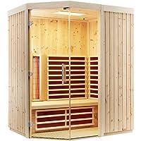 Infraworld–triosol unica2Zirbenkissen cabina de infrarrojos infrarrojos sauna térmica cabina 390137, Breite 162 750.0 watts
