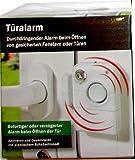 Türalarm / Fensteralarm mit Schlüsselschalter, 120 dB(A)