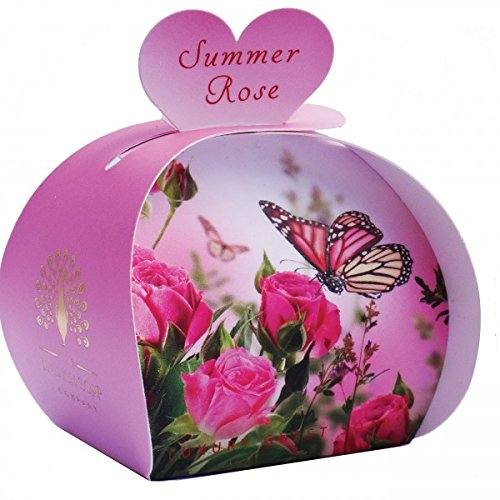 The English Soap Company - Summer Rose -3x20g jabones