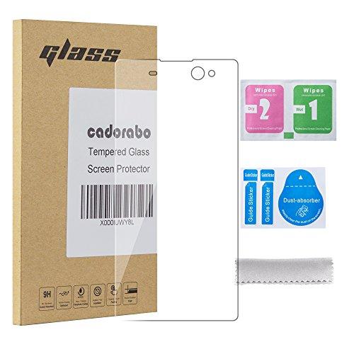 Preisvergleich Produktbild Cadorabo Panzerglas für Sony Xperia XA - Schutzfolie in Kristall Klar – Gehärtetes (Tempered) Display-Schutzglas in 9H Härte mit 3D Touch Kompatibilität