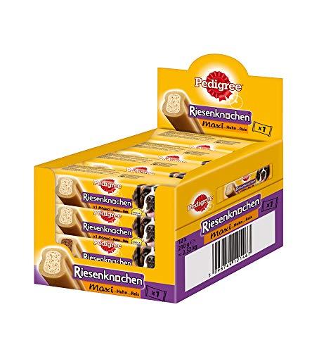 Pedigree Riesenknochen Maxi Hundesnack / 12 Packungen (12 x 210 g) - Für Mittelgroße Hund Knochen Hunde