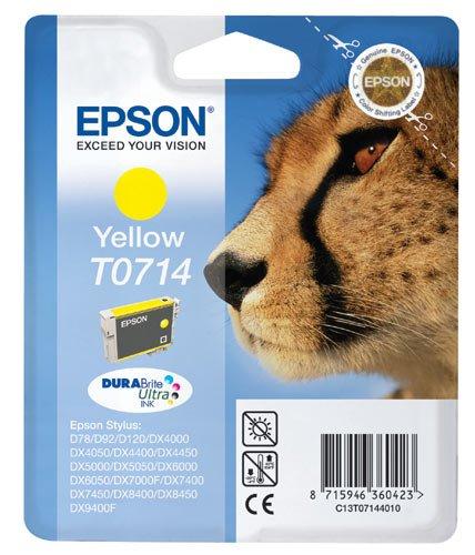 T0714 cartuccia gialla per epson compatibile