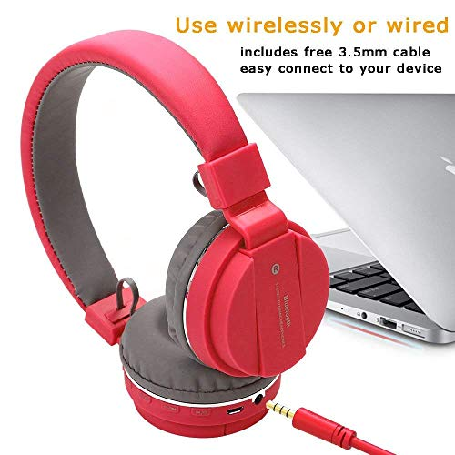 Pikyo SH12 Wireless Bluetooth V4.2 Headphones with Stereo Sound/Hands Free Calls/Portable and Foldable/Noise Cancellation Compatible with Android, iOS & Windows Devices (Random Color) Image 5