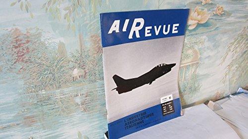 Airevue N°10,octobre 1961 / L'industrie aéronautique italienne