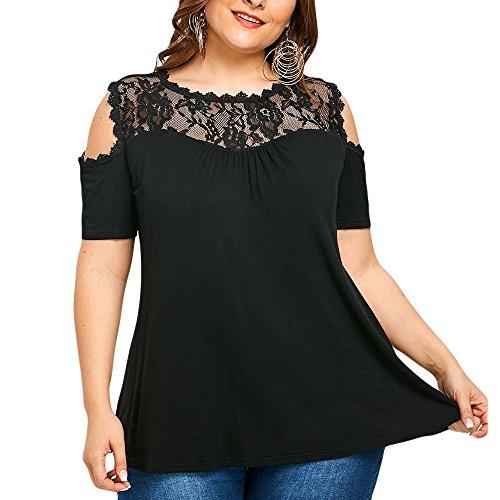 T-Shirt Damen,Mode Lässig Kurzarm Pullover Tops Kurzärmliges T-Shirt Mit Katzenmuster O-Ausschnitt Kurze Ärmel Tops Bluse Resplend