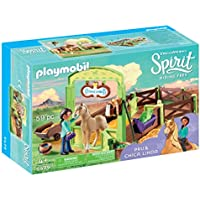 PLAYMOBIL 9479 Spielzeug-Pferdebox PRU & Chica Linda