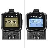 Programmierbarer Timer Fernauslöser für Canon EOS 1100D, 1000D, 700D, 650D, 600D, 550D, 500D, 450D, 400D, 350D, 300D, 100D, 70D, 60D, Powershot G12, G11, G10; Pentax K200D, K110D, K100D, K20D, K10D, K7, K5; Samsung GX-20, GX-10, GX-1s, GX-1L – wie RS-60E3 - 4
