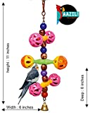#6: AAZIL chan chan sound high quality plastic Ethical Hanging Swing Toys For Budgie, Cockatiel, Lovebird. (Small)