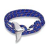Best Ami Anchor Anneaux - DLIAAN Whale Tail Anchor Bracelet Pendentif Bleu Nautique Review