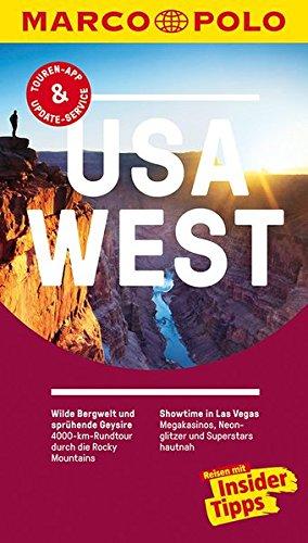Preisvergleich Produktbild MARCO POLO Reiseführer USA West: Reisen mit Insider-Tipps. Inklusive kostenloser Touren-App & Update-Service